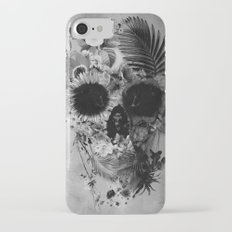 Garden Skull B&W Slim Case iPhone 7