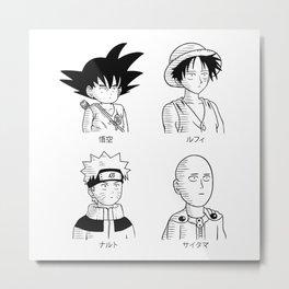 Japan guys Metal Print