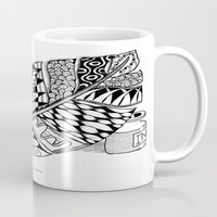 writer Mugs featuring Writer Love by Vermont Greetings