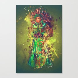 Abstract Carneval Canvas Print
