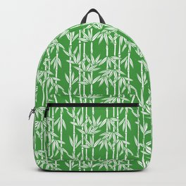 Bamboo Rainfall in Sullivan Green/White Backpack