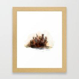 Punxsutawney Phil Framed Art Print