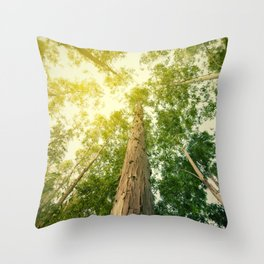 The eucalyptus Throw Pillow