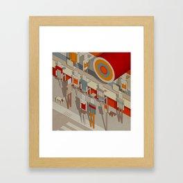 Habitat 16 Framed Art Print