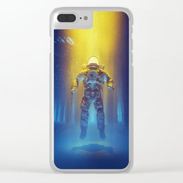 Forest Flux Clear iPhone Case