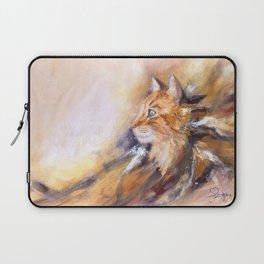 Peaceful cat Laptop Sleeve