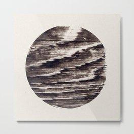 My Tribute To Wood Metal Print
