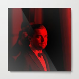 Leonardo Dicaprio - Celebrity (Photographic Art) Metal Print