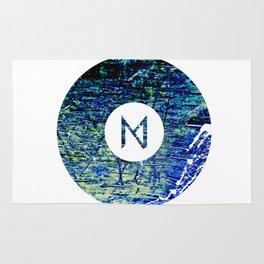 Vinyl abstract Rug