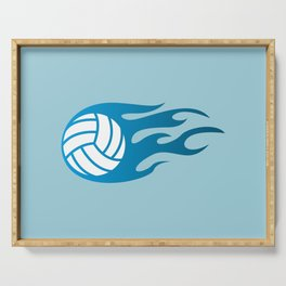 The Volleyball I Serving Tray