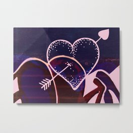 Love is a Battlefield... Metal Print