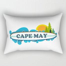 Cape May - New Jersey. Rectangular Pillow