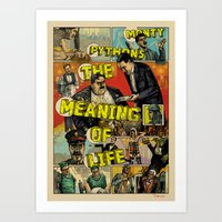 Monty Pythons Art Print