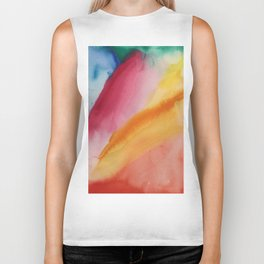 waterolor Biker Tank