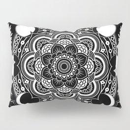 Moon Mandala Pillow Sham