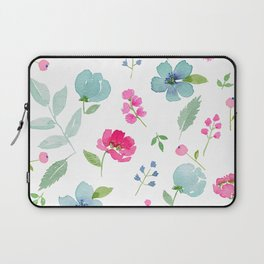 All Things Beautiful - White Laptop Sleeve