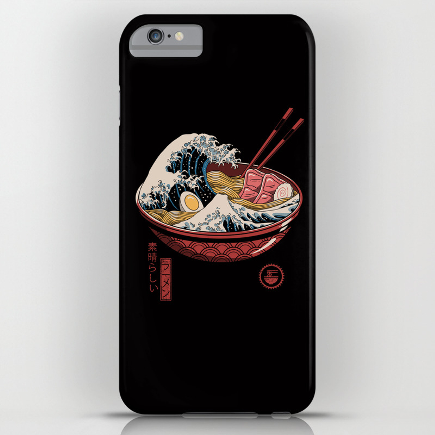 outlet store 48346 eba78 Great Ramen Wave iPhone Case