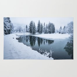 Dreamy Winterscape Rug