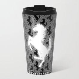 Black and White Travel Mug