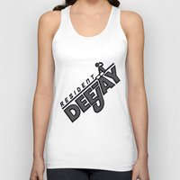 resident evil Tank Tops featuring Resident Deejay by PSimages