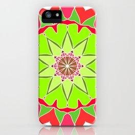 Elegant mandala iPhone Case