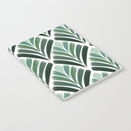 Art Deco Palm  Notebook