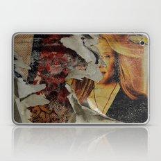 Peeling: Blonde Woman Laptop & iPad Skin