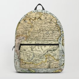 China, Russia, Japan Vintage Map Backpack