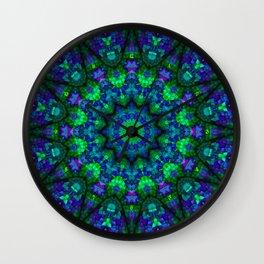 Padded Python Posterchild Wall Clock