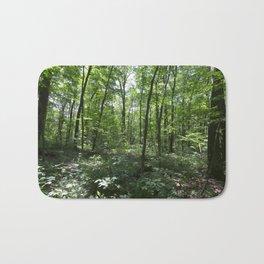 Summer Forest Bath Mat