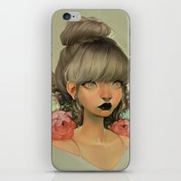 loish iPhone & iPod Skins featuring ambrosial by loish