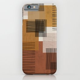 Modern Pattern iPhone Case
