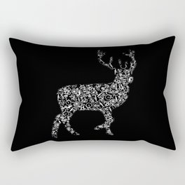 Deer From Bicycles Forest Animal Bicycle Rectangular Pillow