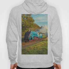 Mallard Steam Locomotive Hoody
