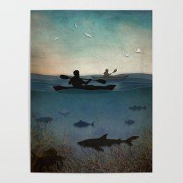 Sea Kayaking Poster