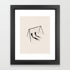 I'm In Lesbians With You Framed Art Print