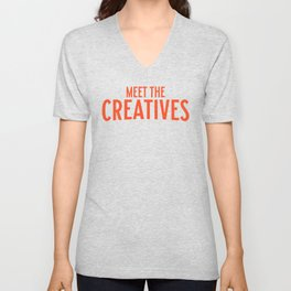 Meet the Creatives Unisex V-Neck