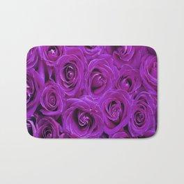 Purple Roses Bath Mat
