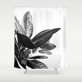 Grandiflora II - bw Duschvorhang