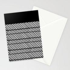 Herringbone Boarder Stationery Cards