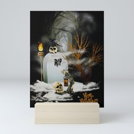 Happy Halloween Mini Art Print