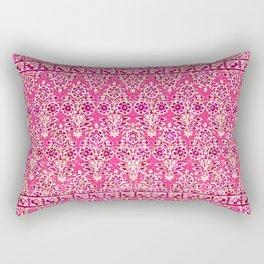 sarasa floral in coral Rectangular Pillow