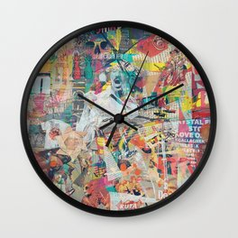 Under Construction Wall Clock