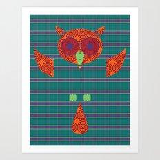 Ezra Art Print
