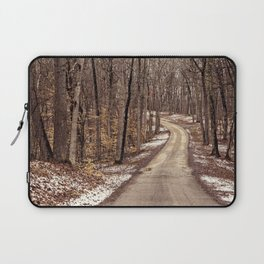 road through the woods Laptop Sleeve