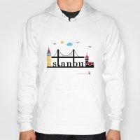 istanbul Hoodies featuring Istanbul.  by Irmak Berktas