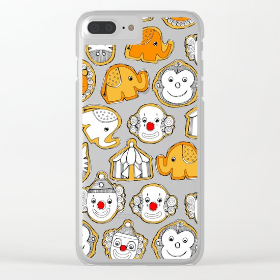 circus cookies Clear iPhone Case