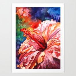 Tropical Hibiscus 2 Art Print