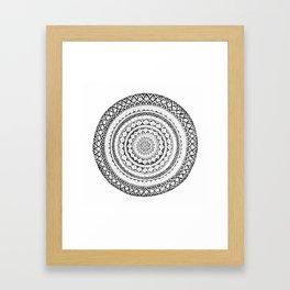 Mandala-lala Framed Art Print