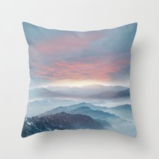 Pastel vibes 72 Throw Pillow